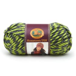 Lion Brand Hometown Usa Yarn Long Beach Lime