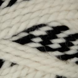 Lion Brand Wool Ease Thick & Quick Stripes Yarn Checkerboard