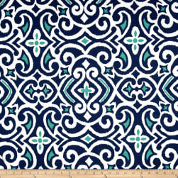 Dwell Studio New Damask Marine Fabric