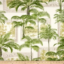 Richloom Solarium Outdoor Key Biscayne Palm Fabric
