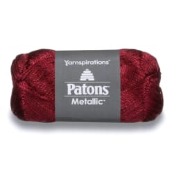 Patons Metallic Yarn (95707) Wine