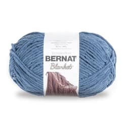 Bernat Blanket Big Ball Yarn (10106) Country Blue