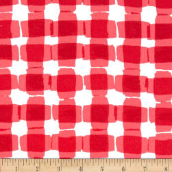 Kanvas Mad For Melon Mod Gingham Red