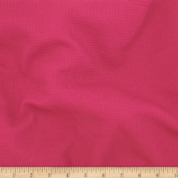 Telio Paola Pique Knit Hot Pink Fabric