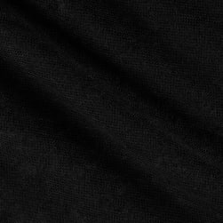 Telio Capri Linen Knit Black Fabric