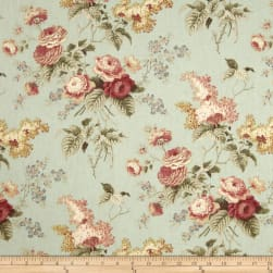 Waverly Emma's Garden Mist Fabric