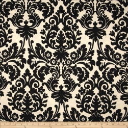 Waverly Sun N Shade Essence Onyx Fabric