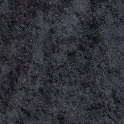 Fabric Merchants Crushed Panne Velour Black Fabric