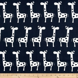 Premier Prints Gisella Navy/White Fabric