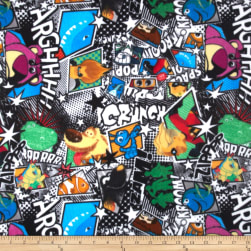 Pixar Character Toss Fleece Fabric
