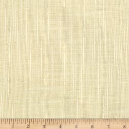 "110"" Faux Linen Sheer Ivory"