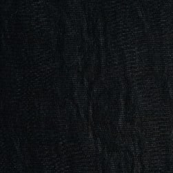 Telio Silk Mesh Black Fabric