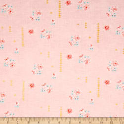 Michael Miller Brambleberry Ridge Rosemilk Metallic Cameo Fabric