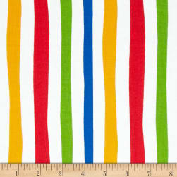 Dr. Seuss ABC Stripe Adventure Fabric