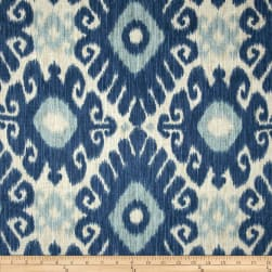 Jaclyn Smith 02606 Ikara Blend Indigo Fabric