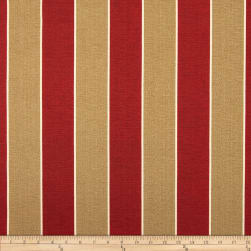 Richloom Solarium Outdoor Wickenburg Stripe Cherry Fabric