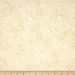 "Essentials 108"" Quilt Back Scroll Ivory"