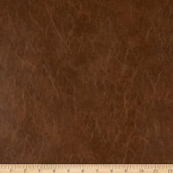 Richloom Faux Leather Distressed Schwimmer Bark