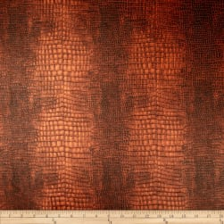 Richloom Faux Leather Reptile Saddle Fabric