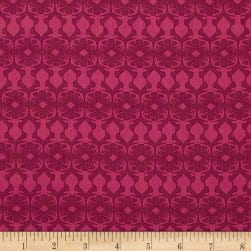 Michael Miller Rustique Embossed Plum