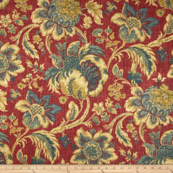 Waverly Arbor Imagery Slub Jewel Fabric