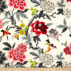 Waverly Candid Moment Ebony Fabric