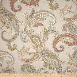 Robert Allen @ Home Global Paisley Blush Fabric