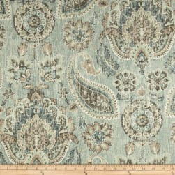 P Kaufmann Plazzo Paisley Geyer Blue Fabric