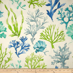 P Kaufmann Sea Wonders Twill Island Fabric