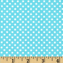 Child's Play Dots Blue Fabric