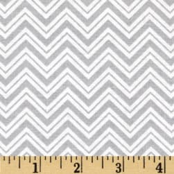 Child's Play Chevron Grey/White Fabric
