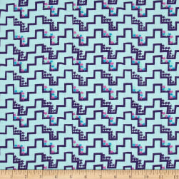 Lace Mountain Step Up Midnight Fabric