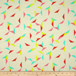 Cotton + Steel Moonlit Tangrams Cream Fabric