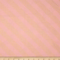 Cotton + Steel Metallic Dottie Cotton Candy Fabric