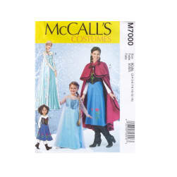 McCall's Girls Patterns-Winter Princess Costume Pattern - Girls