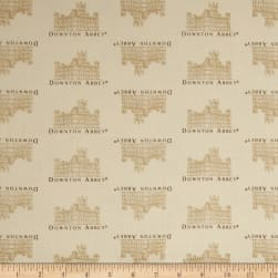 Downton Abbey II Small Castle Cream Fabric