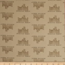 Downton Abbey II Small Castle Tan Fabric