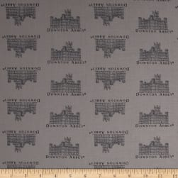 Downton Abbey II Small Castle Gray Fabric