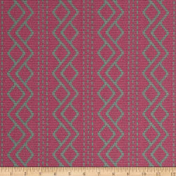 Downton Abbey II Argyle Pink Fabric