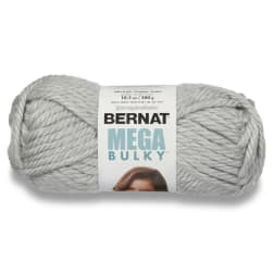 Bernat Mega Bulky Yarn 88046 Light Grey Heather