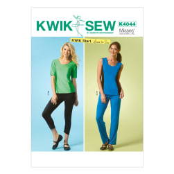 Kwik Sew K4044 Misses Tops, Shorts and Pants