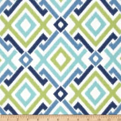 Swavelle/Mill Creek Jacq Diamonds Lagoon Fabric