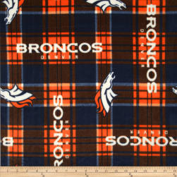 NFL Fleece Denver Broncos Fabric