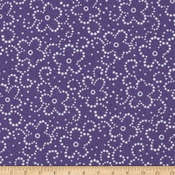 Daisy Floral Purple/White