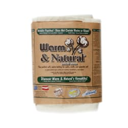 "Warm & Natural Cotton 45"" Batting By The Yard"