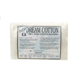 Quilter's Dream White Cotton Request Batting (60'' x 60'') Throw