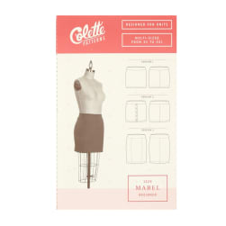 Colette Mabel Misses Skirt Pattern