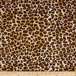 Premier Prints Amazon Leopard Sand Fabric