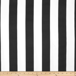 Premier Prints Stripe Black/White Fabric