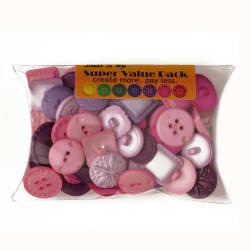 Dress It Up Super Value Pack Buttons Pretty